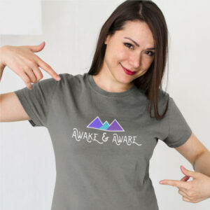 AwakeNAware.com-Awake-&-Aware-Happy-Customer-Wearing-a-Philosophers-Stone-T-Shirt (1)