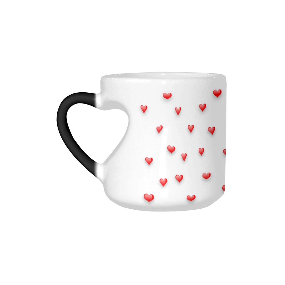 Shop AwakeNAware.com Awake & Aware MAgic Heart Mug Left Side