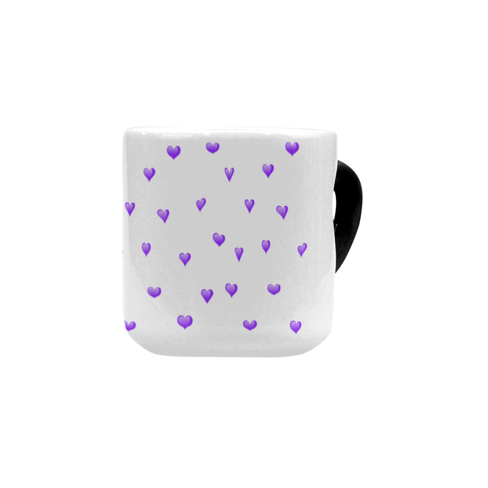 Shop AwakeNAware.com Awake & Aware Purple Heart Magic Mug Frong Angle