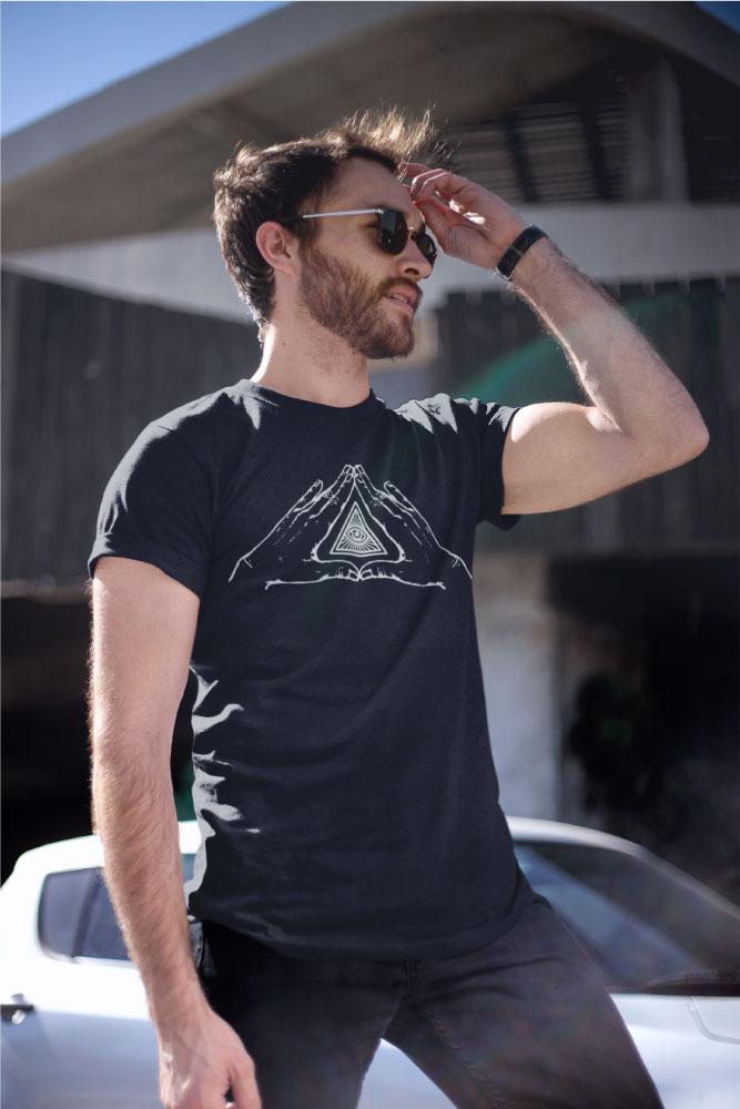 AwakenAware.com-Awake-&-Aware-Guy-wearing-Benediction-Tshirt-and-Sunglasses