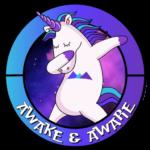 AwakenAware.com-Awake-&-Aware-Unicorn-Dabbing-Profile-Picture-Favicon