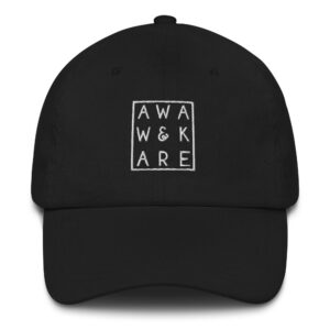 Awake & Aware Matric Embroidery Hat