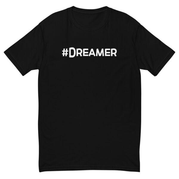 Awakenaware.com-AwakeAware-Hashtag-Dreamer-Tee_mockup_Front_Flat_Black