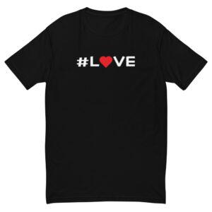 Awakenaware.com-AwakeAware-Hashtag-Love-Tee_mockup_Front_Flat_Black
